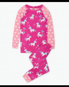 Hatley Pyjamas | Party Horses | Organic Cotton