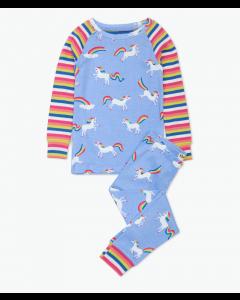 Hatley Pyjamas | Rainbow Unicorns | Organic Cotton