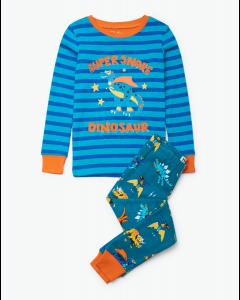 Hatley Pyjamas | Superhero Dinos | Organic Cotton
