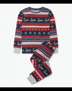 Hatley Pyjamas | Fair Isle Bunnies | Organic Cotton PJs