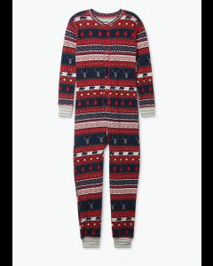 Hatley Pyjamas | Fair Isle Stags | Onesie