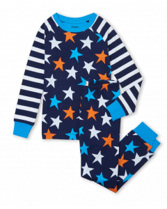 Hatley Pyjamas | Stars & Stripes | Raglan PJ Set