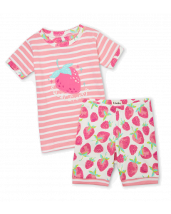 Hatley Organic Pyjamas | Delicious Berries | Short PJ Set