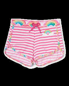 Hatley Swimwear | Girls Swimshorts | Over the Rainbow