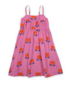 Bobo Choses | Chocolate Flowers | All Over Woven Dress