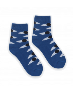 Bobo Choses | Eyes | Blue Short Socks
