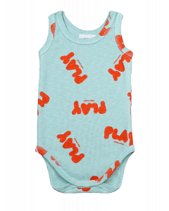 Bobo Choses | Play All Over Sleeveless Body | Organic Cotton
