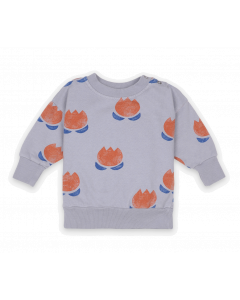 Bobo Choses | Chocolate Flower Sweatshirt | Organic Cotton