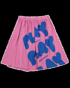 Bobo Choses | Play All Over Woven Midi Skirt | Organic Cotton