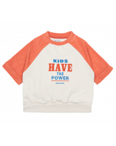 Bobo Choses | Kids Have the Power | Short Sleeve Sweatshirt