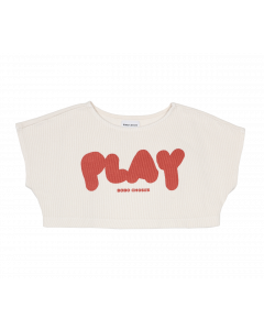 Bobo Choses | Play Cropped Sweatshirt | Organic Cotton