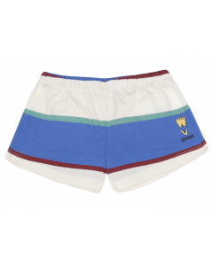 Bobo Choses | Crosswise Stripes Jersey  Shorts | Organic Cotton