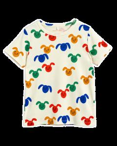Mini Rodini | Rabbits All Over Print | Organic Tee Shirt