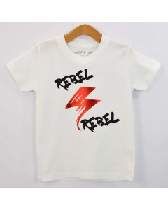 Rocket & Rose | Rebel Rebel | Short Sleeve T-Shirt