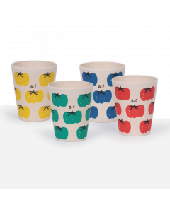 Bobo Choses | Pack of 4 Bamboo Cups