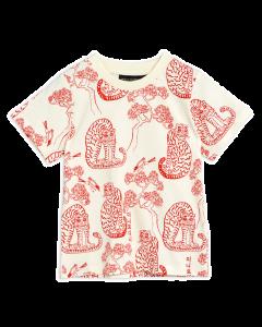 Mini Rodini | Tiger Short Sleeve Tee  | Organic Cotton