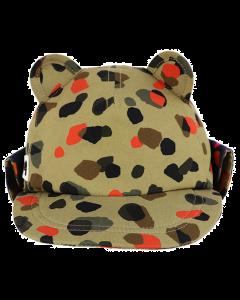 Little Hotdog Watson | Leopard Cub Hat