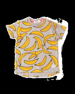 indikidual banana tee shirt | grey