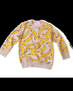 indikidual organic banana sweatshirt | grey