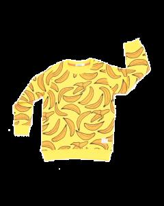 indikidual organic banana sweatshirt | yellow