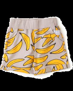 indikidual | grey banana shorts | organic cotton