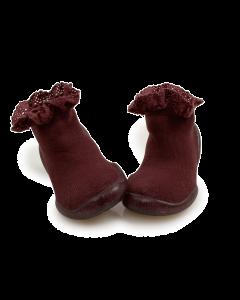 Collegien Slippers | Mademoiselle in Framboise