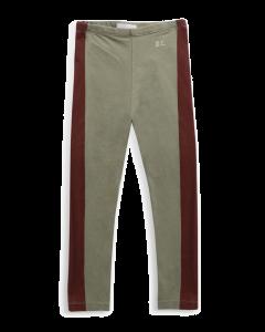 Bobo Choses | Maroon Stripes Leggings | Organic Cotton Leggings