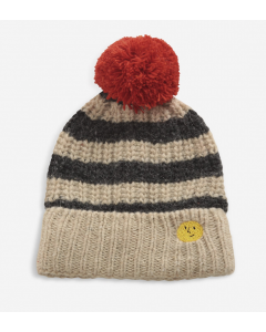 Bobo Choses | Knitted Beanie with Stripes