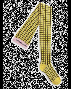 Bobo Choses | Checkered Yellow Tights