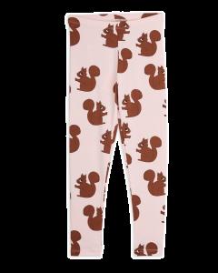 Mini Rodini | Squirrel Leggings in Pink