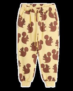 Mini Rodini | Squirrel Organic Sweatpants | Yellow | SKiN&BLiSS