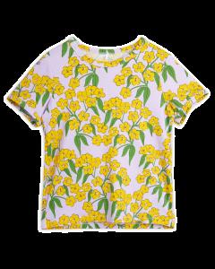 Mini Rodini | Alpine Flowers Short Sleeve Tee | SKiN&BLiSS