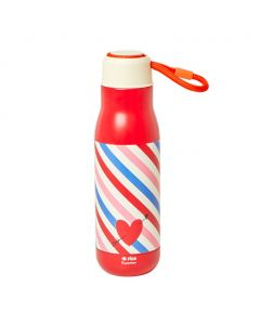 Rice Stainless Steel Drinking Bottle | Candy Stripes