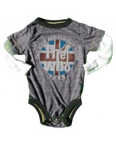 Rowdy Sprout Babygrow | The Who
