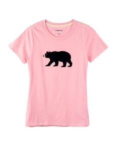 Hatley | Women's Pyjama Tee | Pink Bear